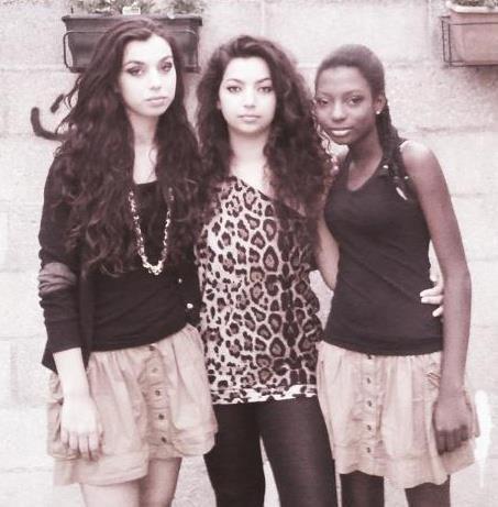 Moi, Zakiya et Sarah