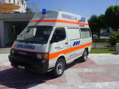 Ambulance de réserve basé à Porrentruy