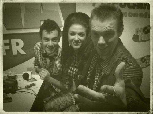 Fanny, Alexandre et Gregory à Mona FM à Lille