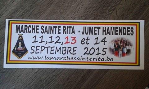 La Marche Sainte-Rita de Jumet Hamendes