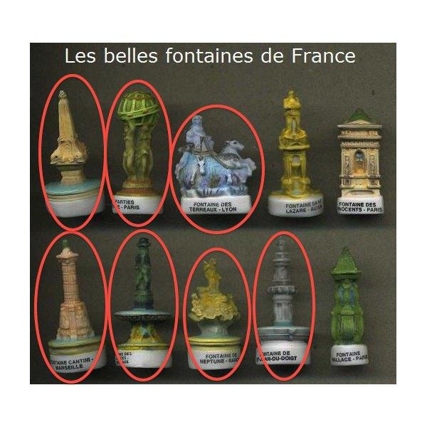 les belles fontaines de france