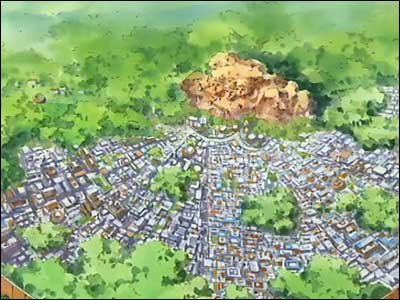 Le village de Konoha :) Partie 1