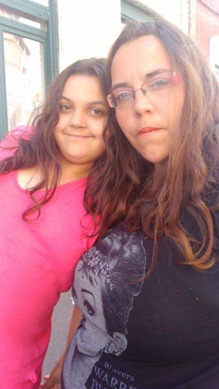 ma soeur peggy et sa fille