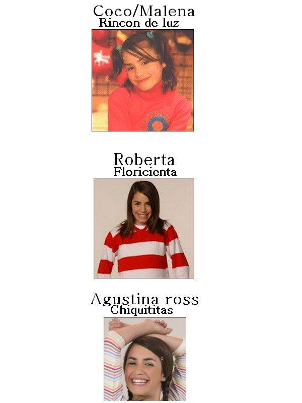 Mariana Esposito tous les roles qu'elle a joué