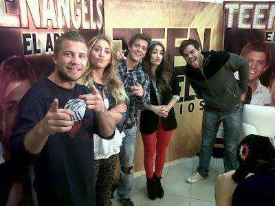 """Interview des Tenn Angels pour AM et pour """"Baires Directo"""" le 25/07/12"""