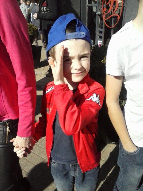 mon fils au carnaval