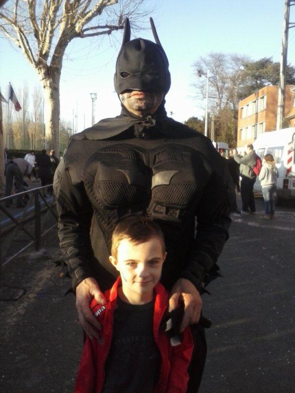 mon fils et batman