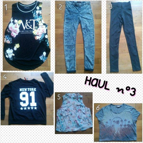 HAUL n°3 (habits)