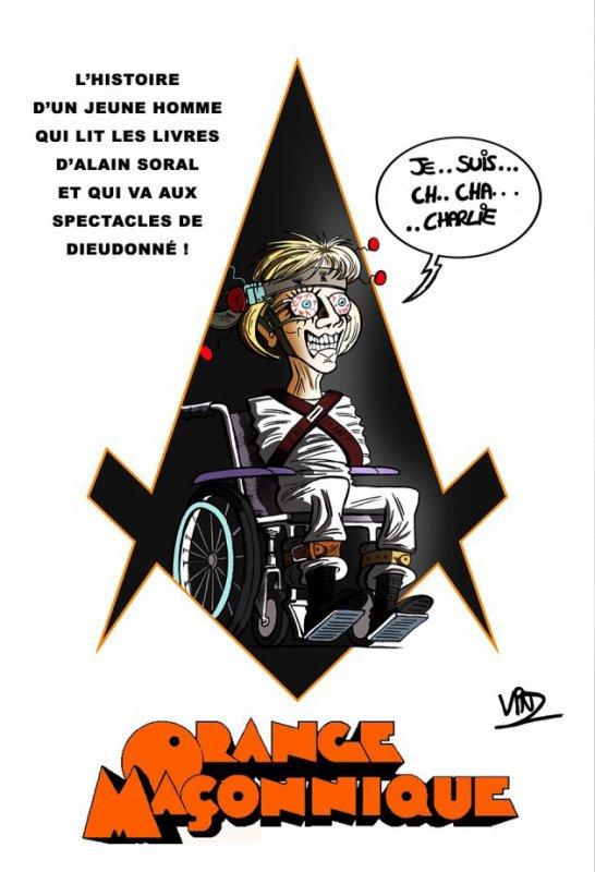 Orange Maçonnique :Ptdr !