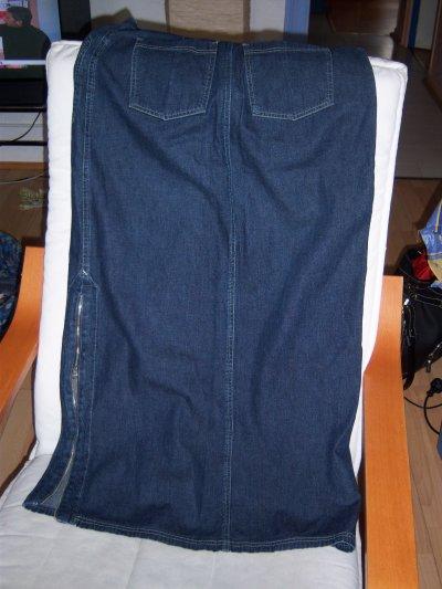jupe longue jeans T40