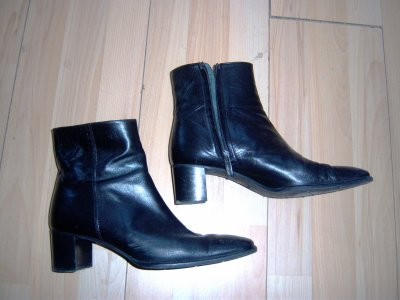 bottines noires P 39.5