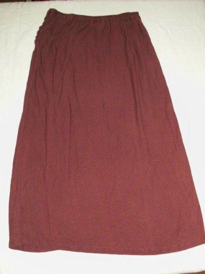 jupe longue bordeaux TM