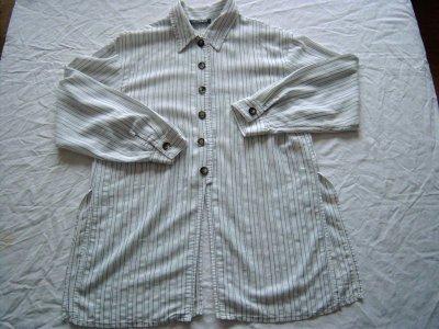 sur-chemise rayée T2