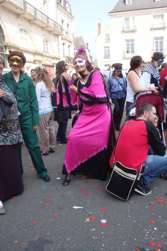 Carnaval de Tours2014: - Famille Roi Rose