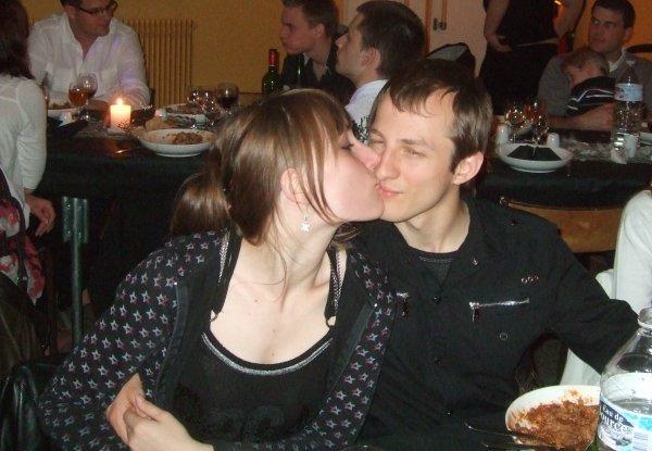 Moi et mon chéri à mes 18ans <3