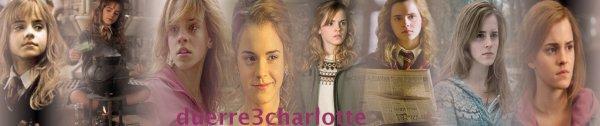 Emma Charlotte Duerre Watson & Hermionne Jane Granger