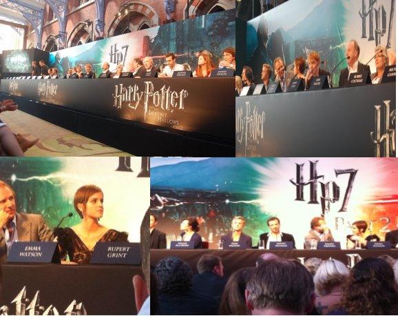 2011/les photos de la conférence de presse & le photocall pour HP et les reliques de la mort partie 2.