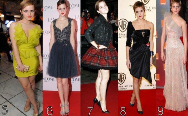 2011/interview video,coupe garçonne,robes 2011