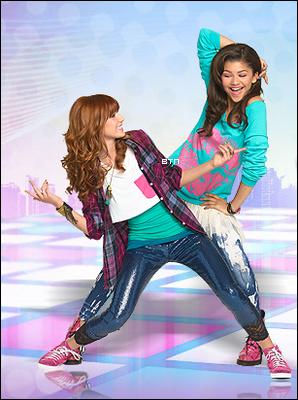 Découvrez le nouveau photoshoot promotionnel de Bella & Zendaya pour Shake it Up saison 2 (collaboration avec ThorneBella).