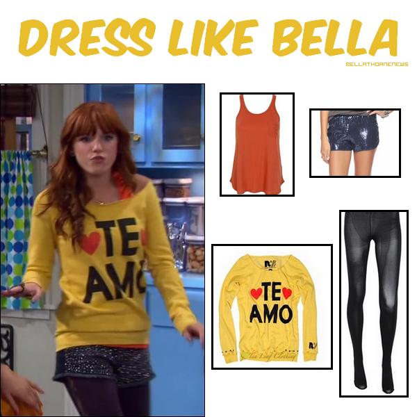 Habille-toi comme Bella dans l'épisode Camp it Up de SIU !