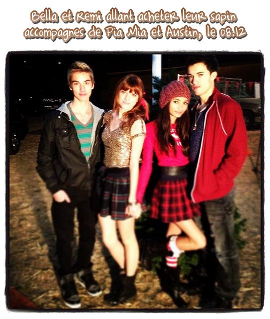 Bella est allée acheter son sapin de Noël le 8 décembre 2011.