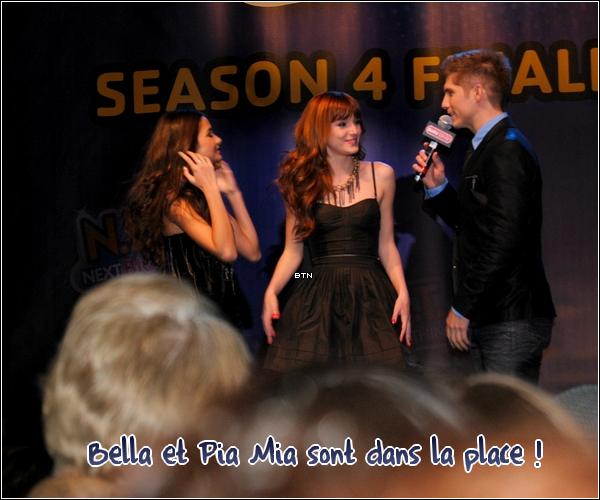 Nouvelles photos de Bella à la finale de NBT + Bella à l'anniversaire de Jasmine Villegas.