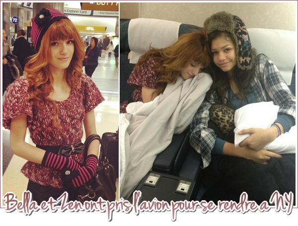 Bella et Zendaya sont à New York !