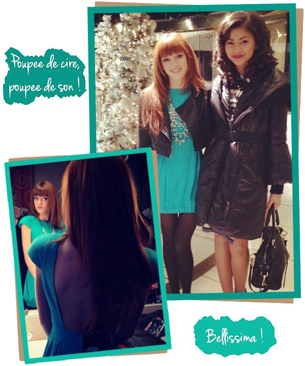 Le 16 décembre, Bella & Zendaya sont allés donner une interview à la télé pour la promo de SIU et Frenemies.
