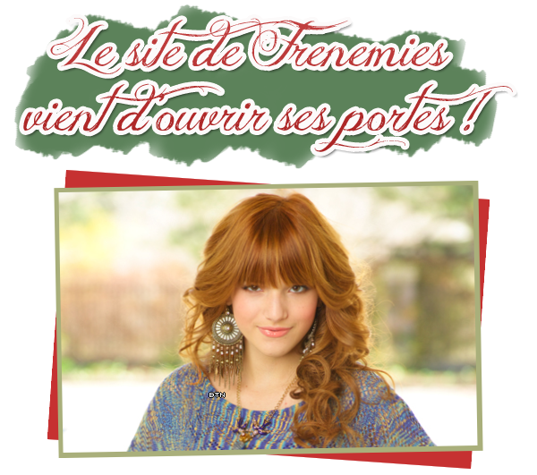 Photos Twitter du 19/12/11 + site officiel de Frenemies !
