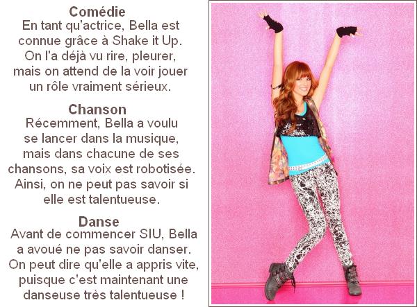 Bella Thorne peut-elle être la future Miley Cyrus ?