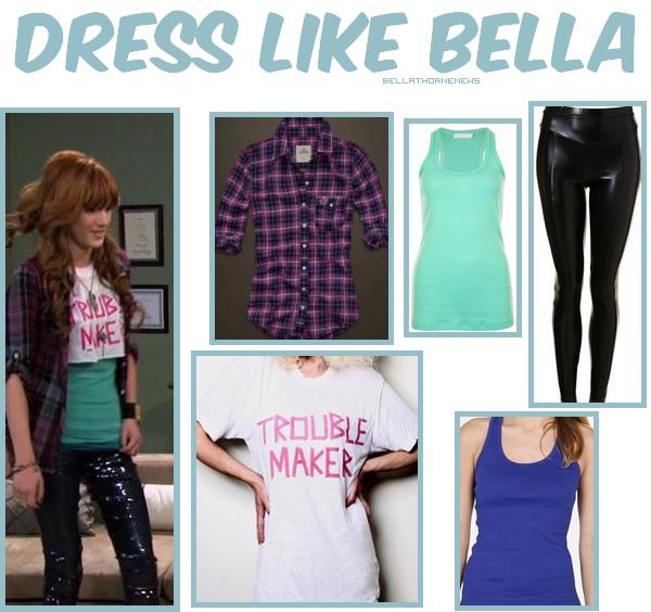 En l'absence de news, voici un nouveau Dress Like Bella spécial SIU saison 2 !