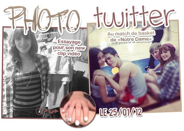 Photos Twitter du 25 & 26 janvier