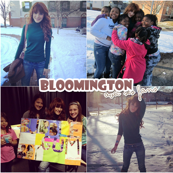 New photoshoot + Bella à Bloomington + Bella signant des autographes