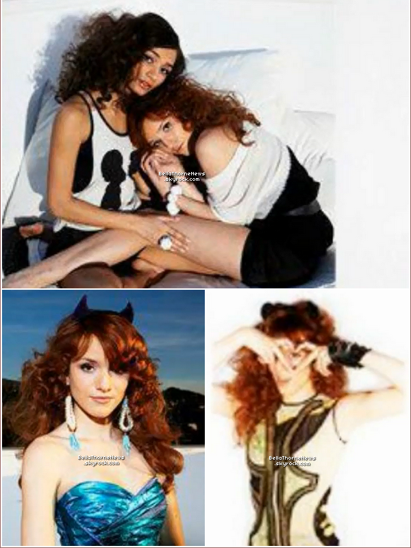 Bella & Pia Mia ont fait un photoshoot le 29/01/2012