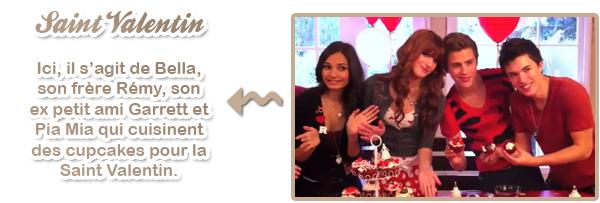 Vidéos pour PopStar + scoop Bella/Tristan
