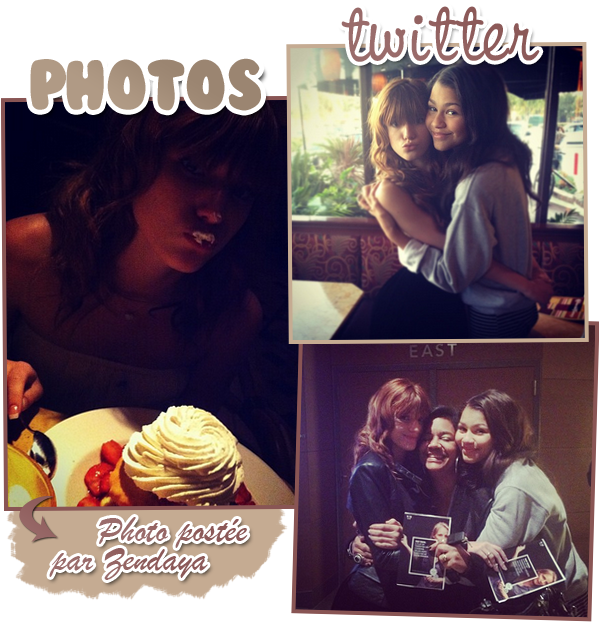 New photos du shoot de SIU saison 2 + dinner avec Zendaya