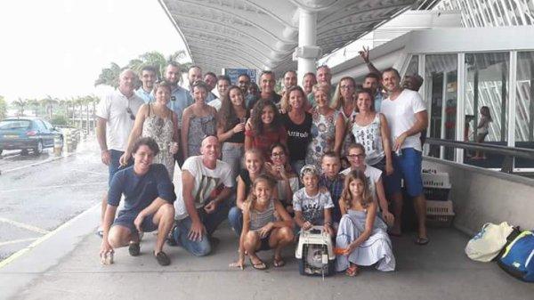 Les amis sont restés  au soleil pour beaucoup  mais on a retrouvé  les autres dans notre Bourgogne et la famille.