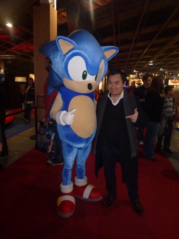 Sonic, la mascotte de Sega