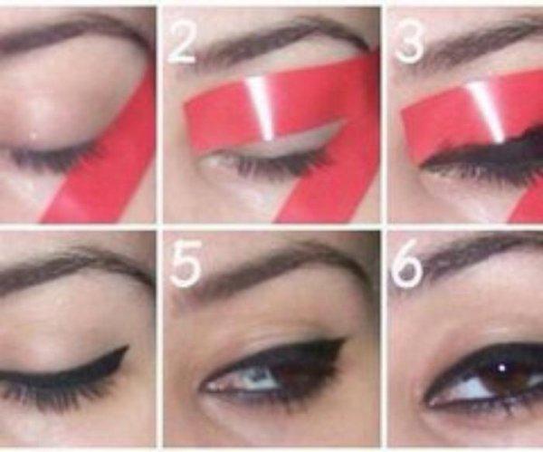 Techniques pour tracer son trait d 39 eyes liner ton blog - Comment faire un trait de liner ...