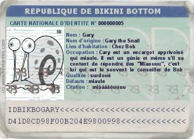 Carte D Identiter