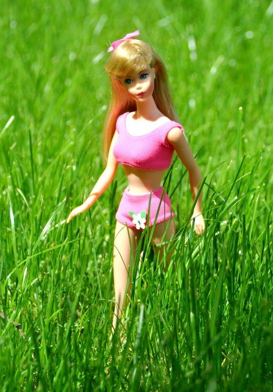 barbie new standard ici avec sa boite réf:1190 de 1967 à 1969