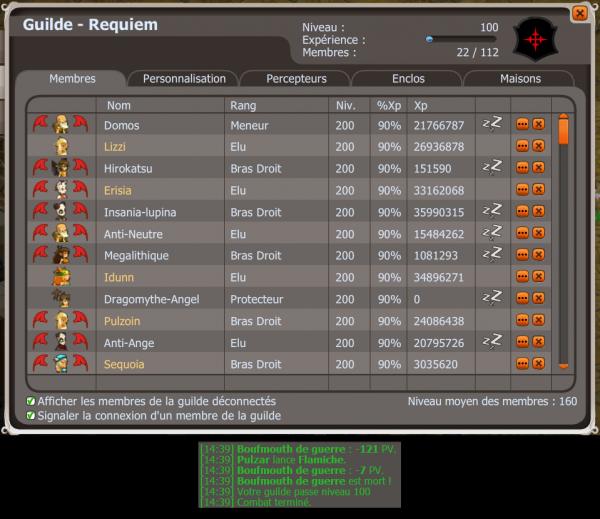 Requiem niveau 100 !