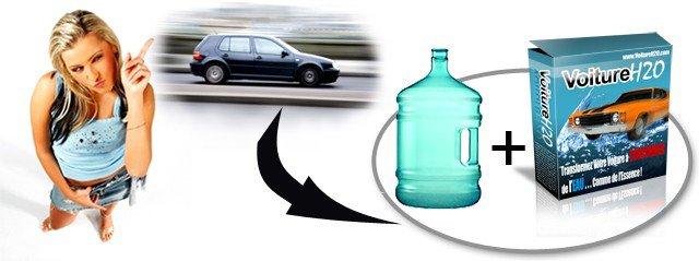 transformez votre voiture essence en une voiture H2O