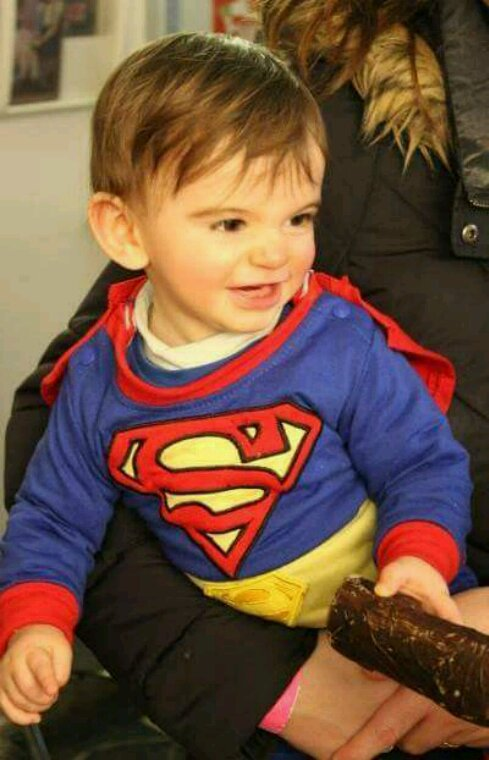 Mon superman...