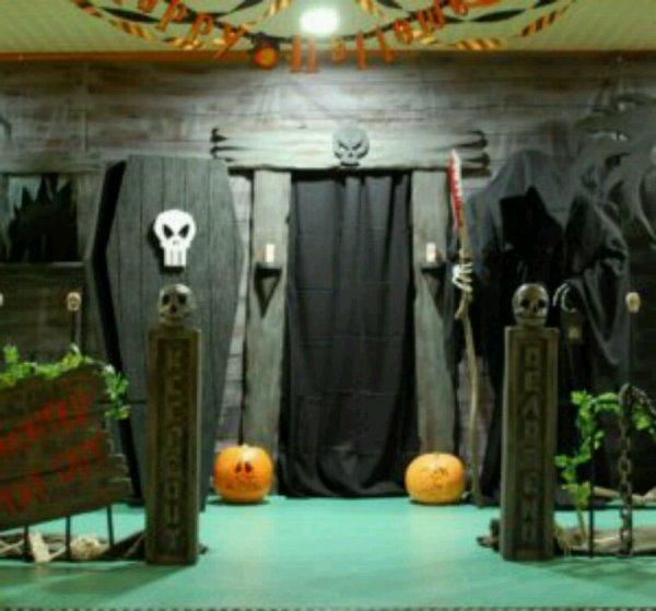 Préparation pour halloween