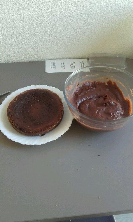 Gateau et flan chocolat maison...