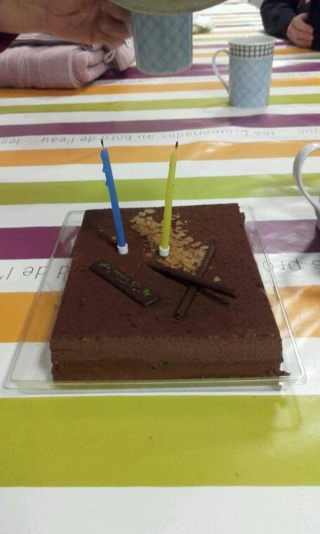 Mon anniversaire...