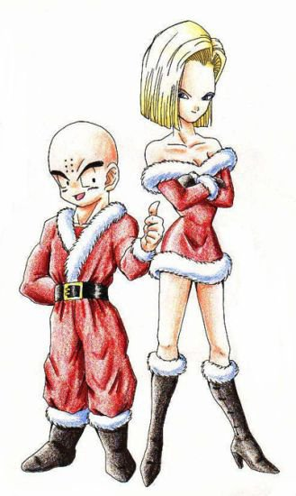 Fanart c18 et krillin dragon ball z - Dragon ball z c18 ...