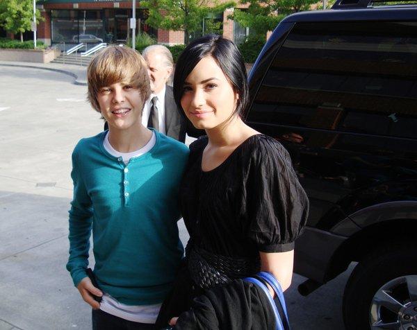 Justin Bieber et Demi Lovato