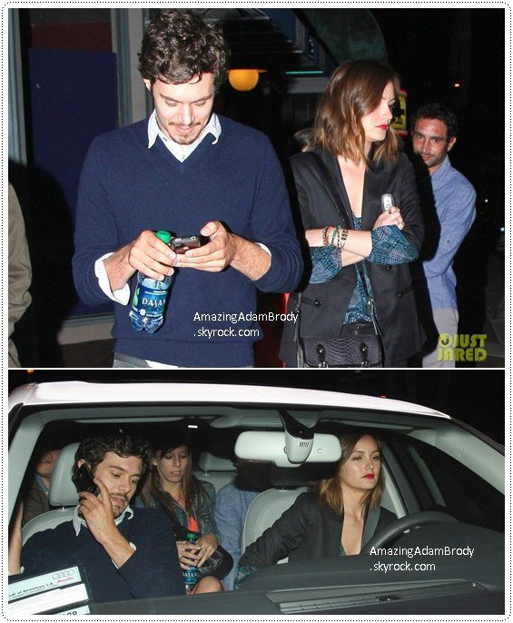 27 avril 2013, Leighton et Adam étaient au Cinerama Dome Theate!